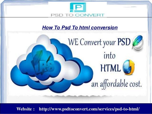 How tHow To Psd To html conversion