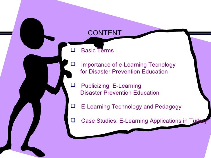 HOW TO PUBLICIZE E LEARNING TECHNOLOGY FOR DISASTER PREVENTION EDUCATION  Slide 2
