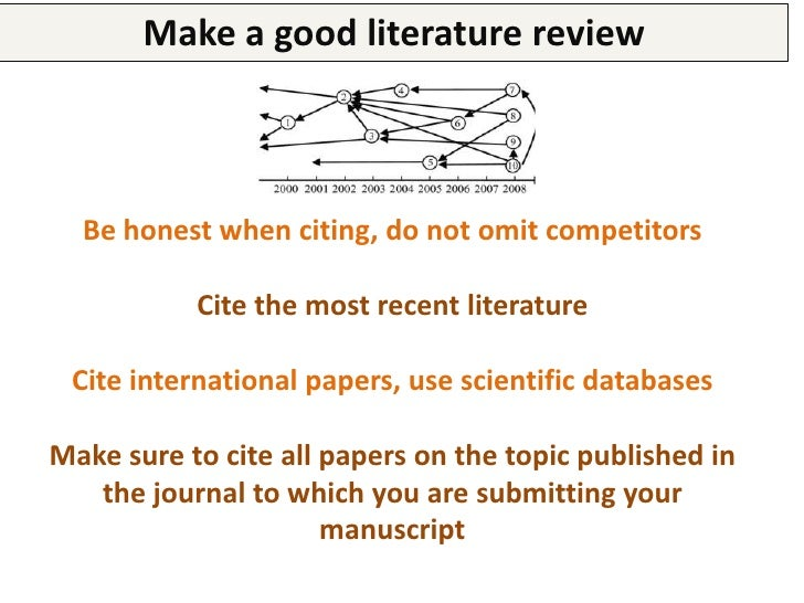 When writing the manuscript1.   Many papers are rejected or loose their value because they     are not well written, prese...