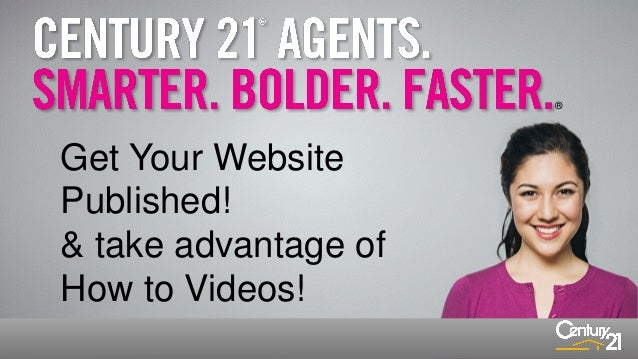 ®  Get Your Website Published! & take advantage of How to Videos!