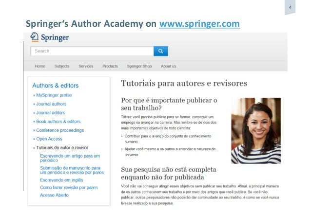 How to publish - Springer Nature
