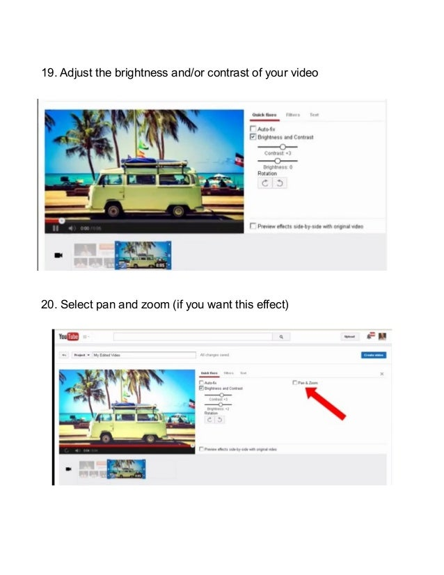 How To Put An Image On YouTube Using The YouTube Video Editor