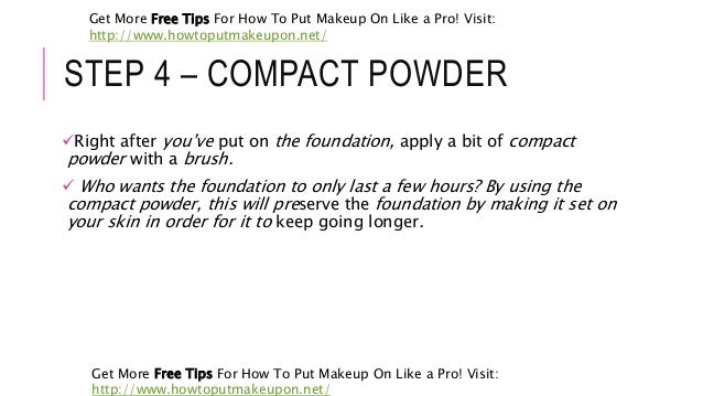 How to Put On Makeup Like A Pro (Tutorial)
