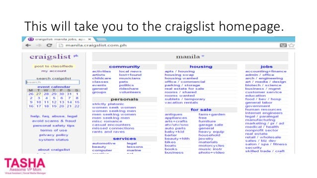 how to put your resume on craigslist for virtual assistants