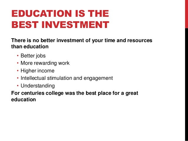 Education is better than wealth Essay