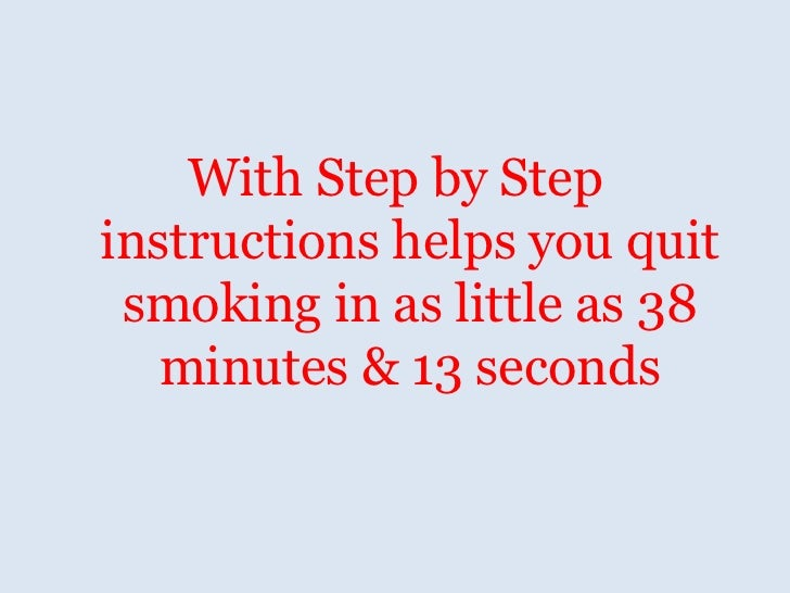 How to quit smoking forever Effective ways