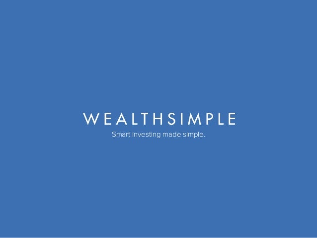 Smart investing made simple.