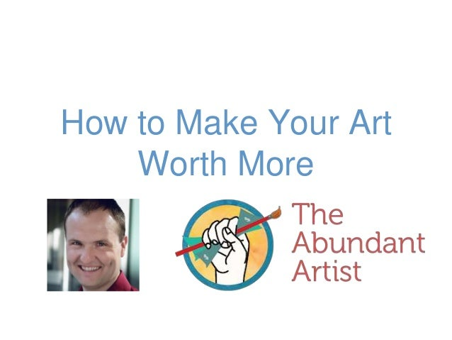 how to make money of your art