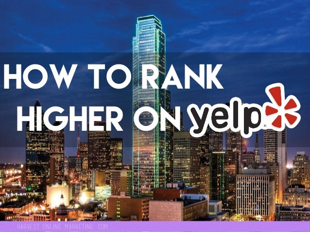 Harvest online marketing .com How to rank higher oN