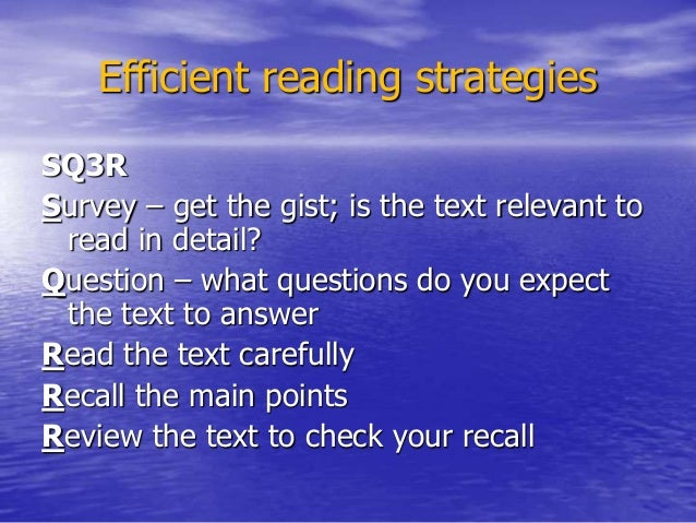 essay on reading strategy Echo reading is a useful methodology to help struggling readers we will define the term, give examples, and explore strategies that can be utilized by educators to employ echo reading.