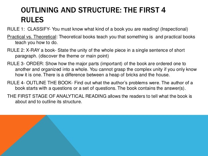 How To Read A Book Adler