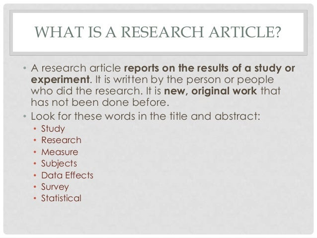 research articles Read the latest articles of journal of safety research at sciencedirectcom, elsevier's leading platform of peer-reviewed scholarly literature.