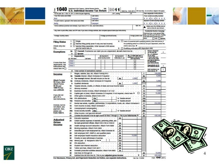 How To Read A Tax Return - Cash Flow to Determine Spousal Maintenance…