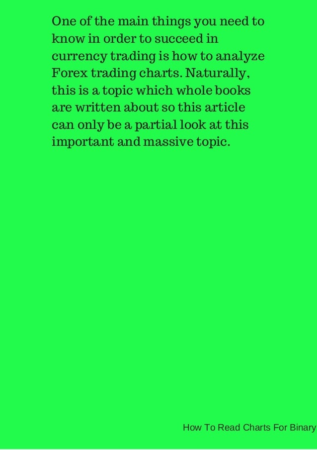 Reading binary option charts