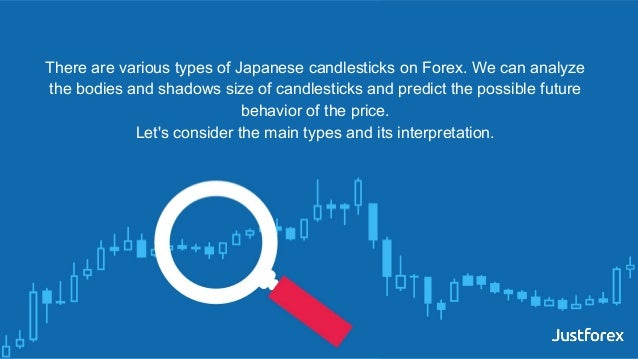 There are various types of Japanese candlesticks on Forex. We can analyze the bodies and shadows size of candlesticks and ...