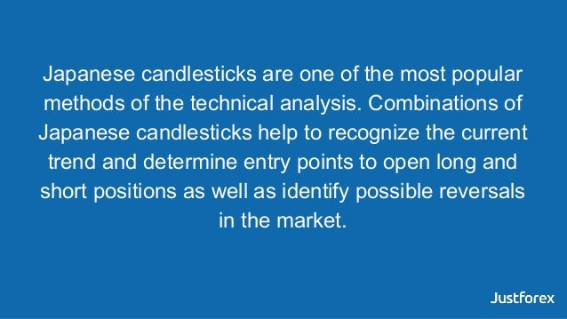 Japanese candlesticks are one of the most popular methods of the technical analysis. Combinations of Japanese candlesticks...