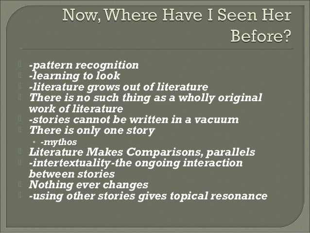 how to read literature as a It's important at the start of a piece of research to try to get a sense of the field - to establish the kinds of articles and books that are going to be useful.
