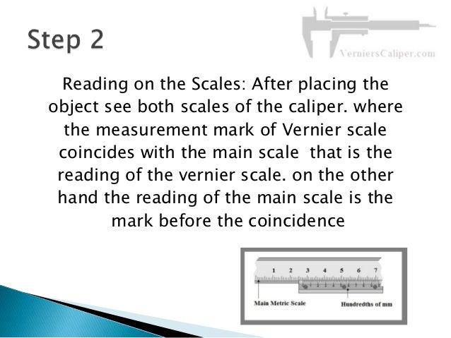 How to read vernier caliper easily