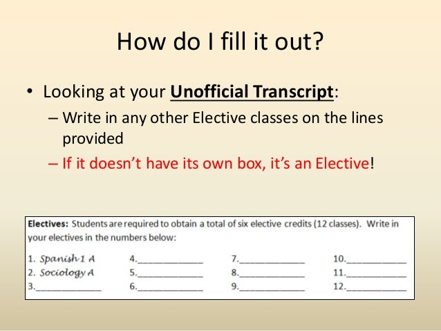 how to find my transcript