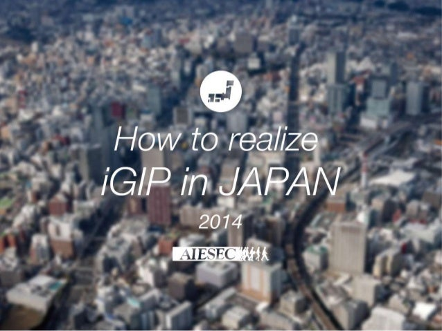 How to realize in Japan
