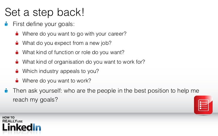 How To Really Use LinkedIn To Find A New Job In 10 Slides