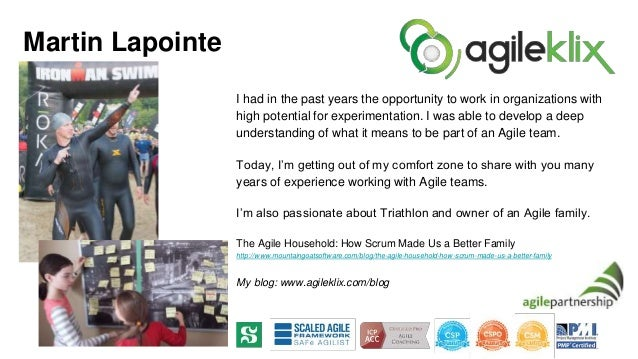 I had in the past years the opportunity to work in organizations with high potential for experimentation. I was able to de...