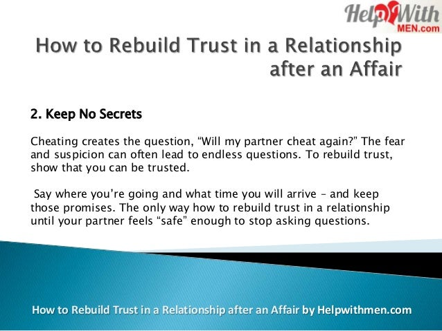 How to Rebuild Trust in a Relationship After a Breakup