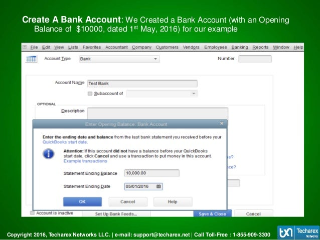 How To Reconcile Accounts In QuickBooks