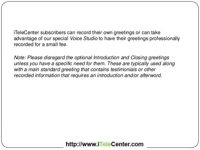 How to record your itelecenter unavailable greeting how to record your itelecenter unavailable greeting 2 m4hsunfo