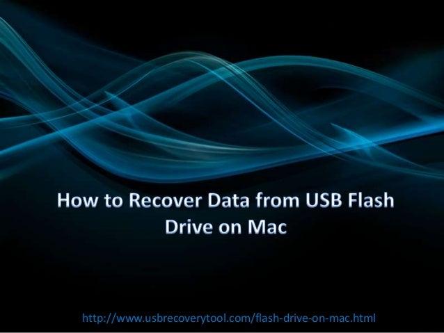 http://www.usbrecoverytool.com/flash-drive-on-mac.html