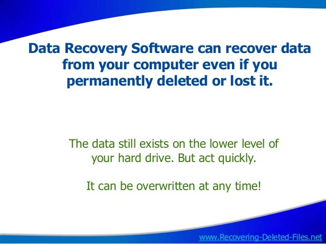 How to recover deleted downloads on mac