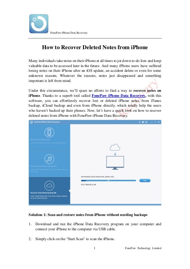 recover deleted notes iphone how to recover deleted notes from iphone 9687