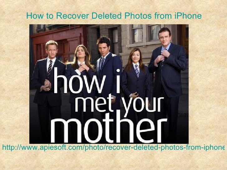 How to Recover Deleted Photos from iPhonehttp://www.apiesoft.com/photo/recover-deleted-photos-from-iphone.