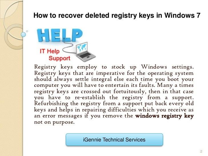 how to create registry key in windows 7