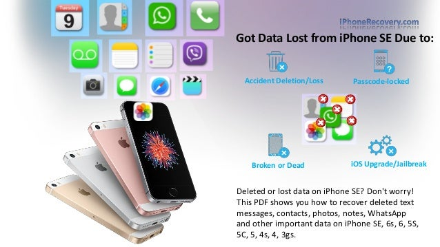 recover deleted text messages iphone how to recover deleted text messages from iphone se 1769