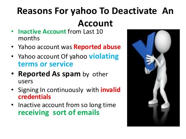 Reactivate Delete Yahoo Account @ +1-855-777-5686