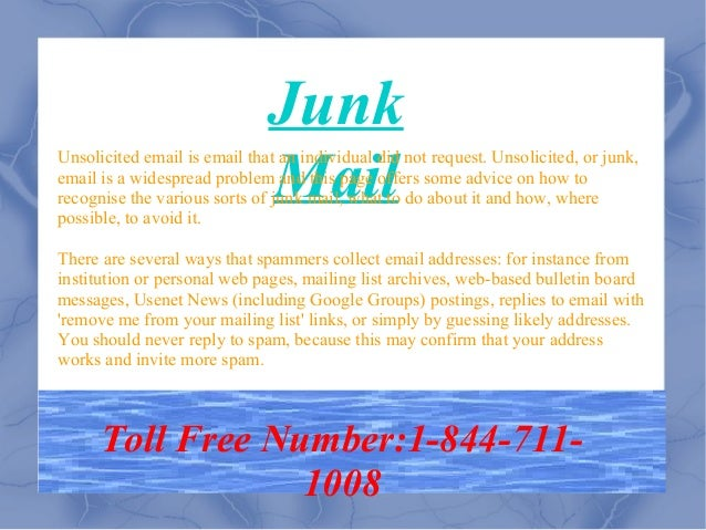 How To Recover Junk Mail From Yahoo | How To Recover Delete Mail From Yahoo Slide 2