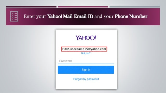 how to recover yahoo email password without phone number