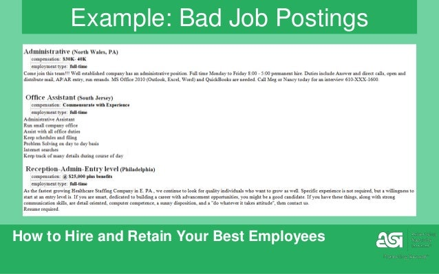 how-to-hire-and-recruit-your-best-employees-25-638 Job Ads Examples Good on job advertisements in newspapers, job brochures examples, job interest email, job openings, biographies examples, job poster examples, job applications examples, blogs examples, services examples, job design examples, surveys examples, finance examples, job section in newspaper, job announcements examples, job wanted, job skills and goals, research examples, job advertising examples, advertisement examples, business examples,