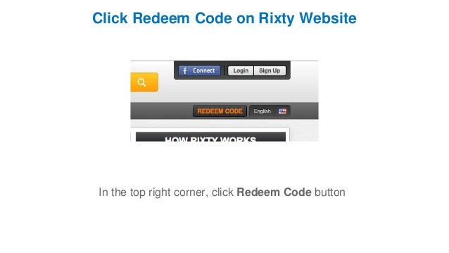 How to Redeem a Rixty Game Card