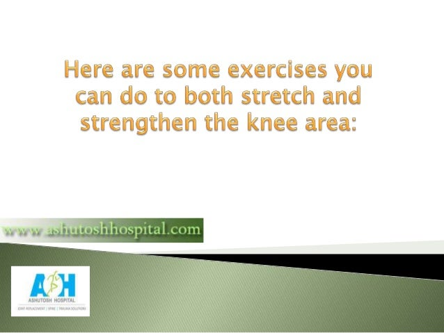 How to Reduce Knee Pain With Exercise Slide 3