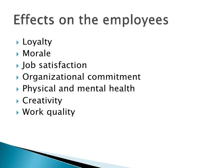 effects of employee rewards on organisational commitment Employee organisational commitment among higher learning academic staff at a selected south african institution 2 objectives of the study the objectives of this study were: • to investigate the impact of leadership styles (transformational and transactional leadership) and employee organisational commitment.
