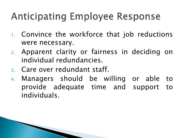 thesis the impact of downsizing on the morale of employees The effect of training and development on employee attitude as it  its impact on job proficiencies  the effect of training and development on employee attitude.