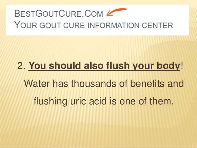 how to reduce uric acid build up in the body