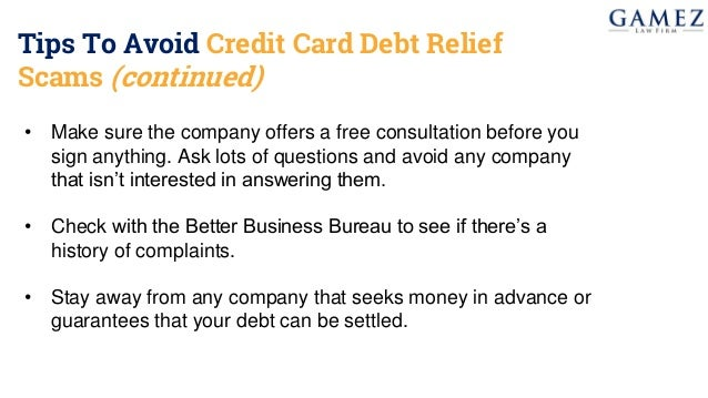 How to reduce your credit card debt with a debt settlement debt relief company is not 14 tips to avoid credit card reheart Choice Image