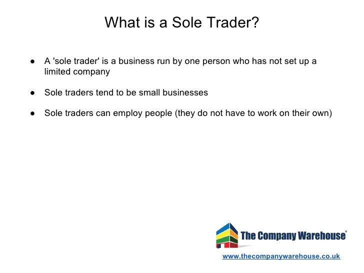 Set Up Sole Trading Company