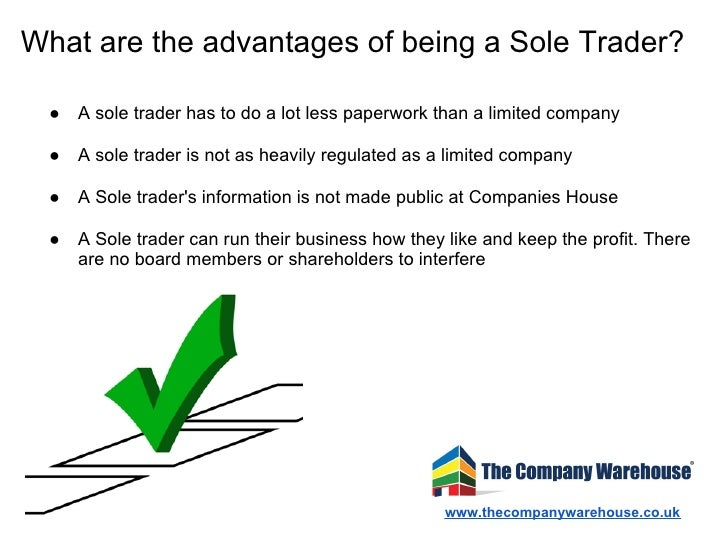 Becoming a sole trader — blogger.com