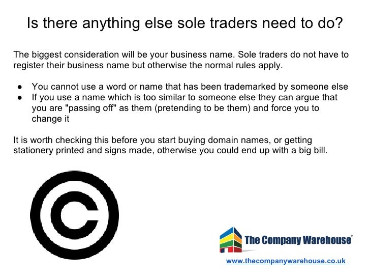 sole trader trading as  How to Register as a Sole Trader in the UK