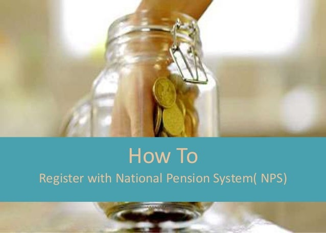 How to register with NPS