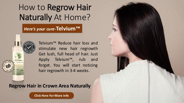 How to Regrow Hair Again Naturally?